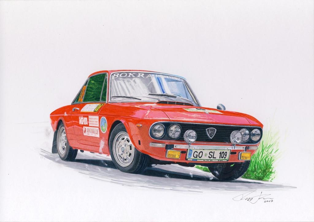 Lancia Fulvia rally by klem