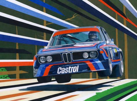 BMW CLS jump