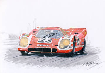First Porsche win in Lemans by klem