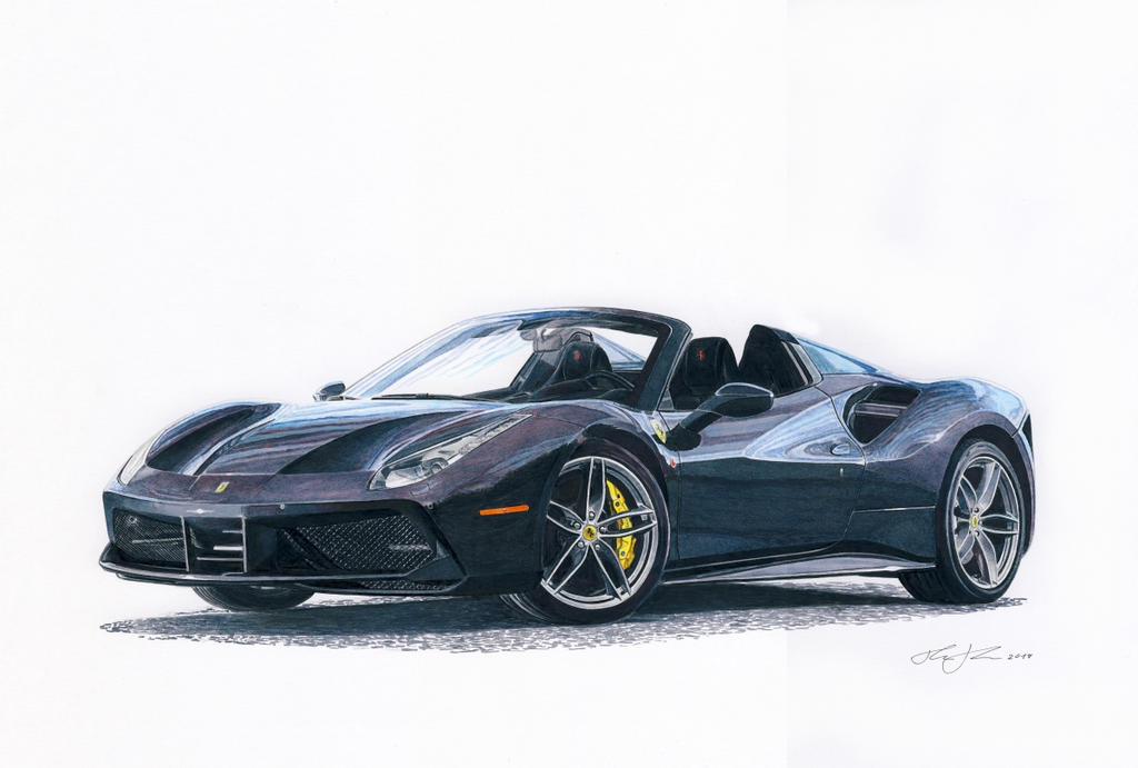Ferrari 488 Spider by klem