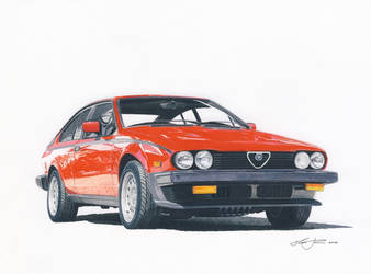 Alfa GTV V6 by klem