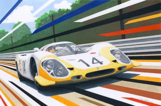 Porsche 917 at lemans