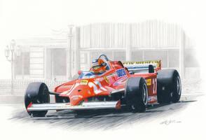 Villeneuve wins at Monaco