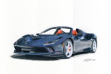 Ferrari F8 Spyder