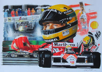 Senna tribute by klem