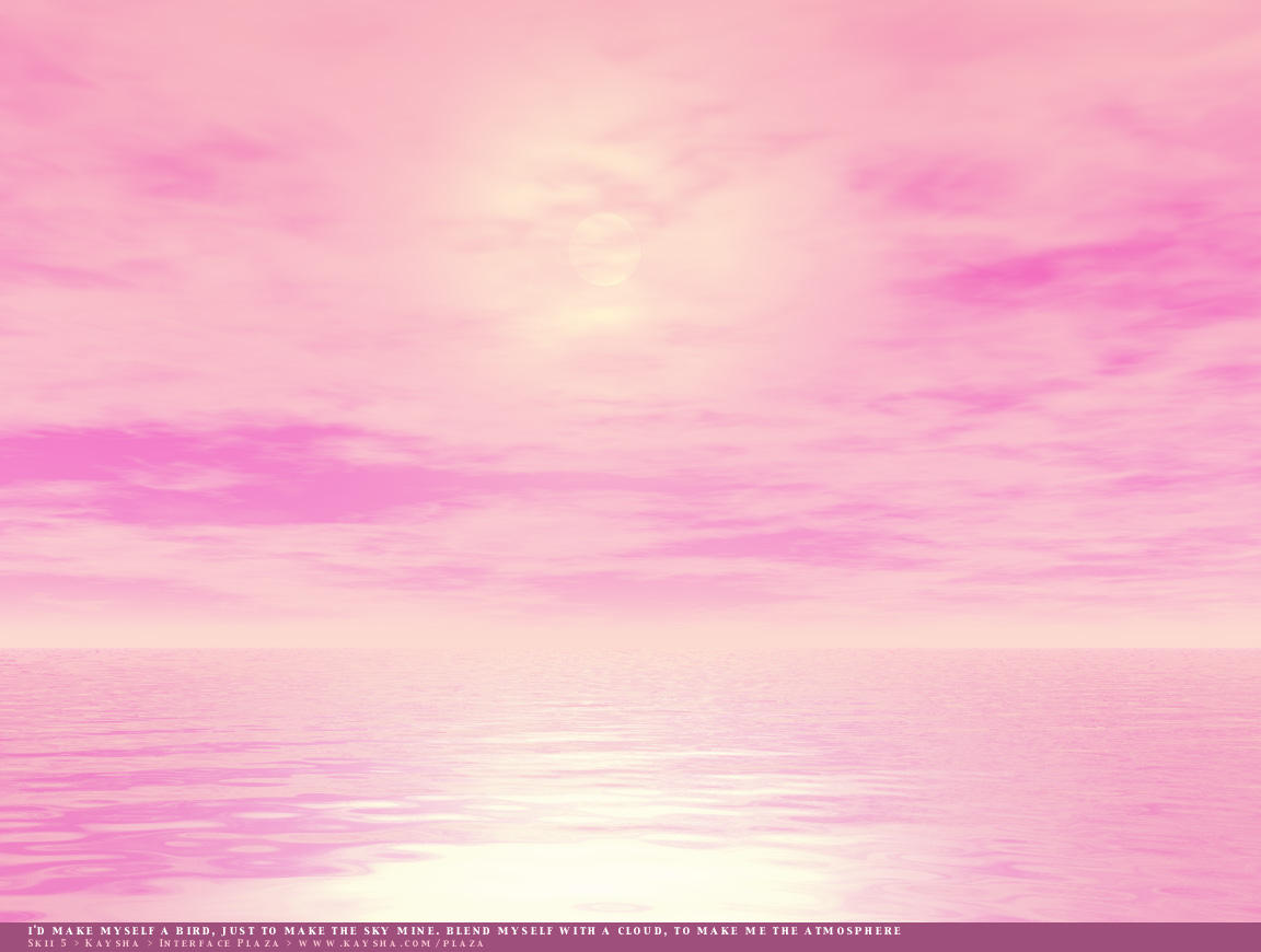 Pink Skies wallpaper
