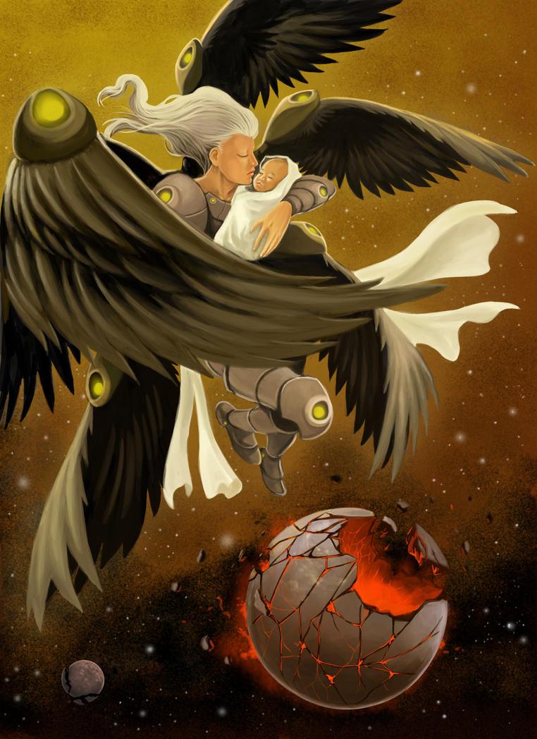 Dark Seraph by Dedefox
