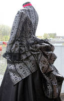 1873 costumes side view by debellespoupees
