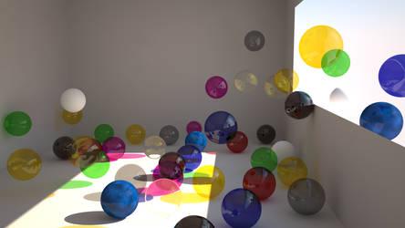 balls in windows vray by tbrazil