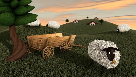 Ovelhas by tbrazil