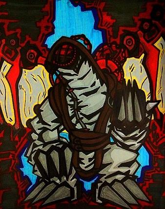 Songbird Bioshock Infinite Full Piece by dark-es-will