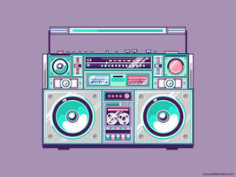 Ghetto Blaster by exageth