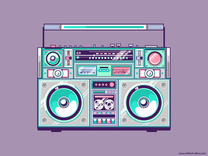 Ghetto Blaster by exageth on DeviantArt