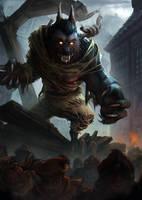 Werewolf Rage by Coffeeater