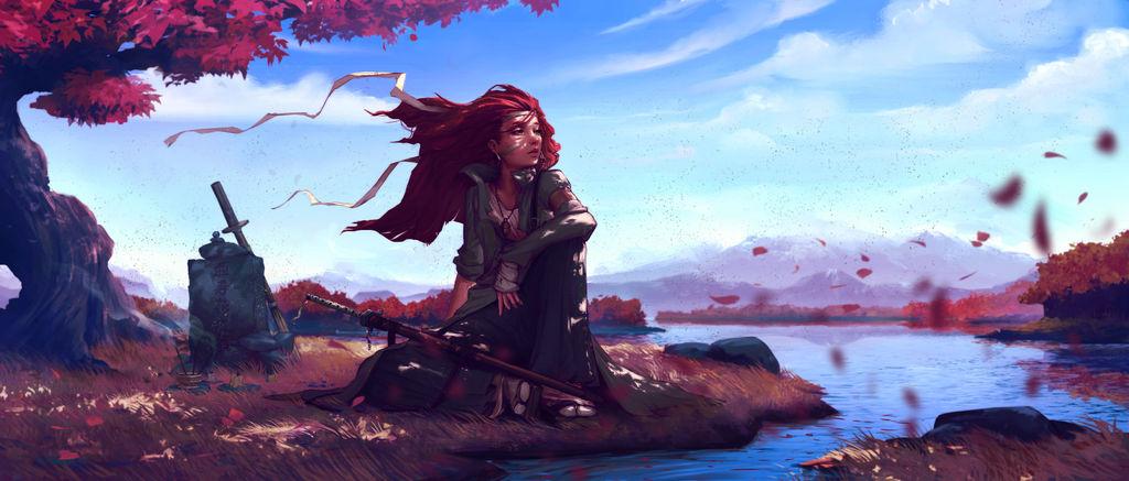 Kaze ni naru (Become the wind) by Coffeeater