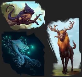 Exo planet animals #3