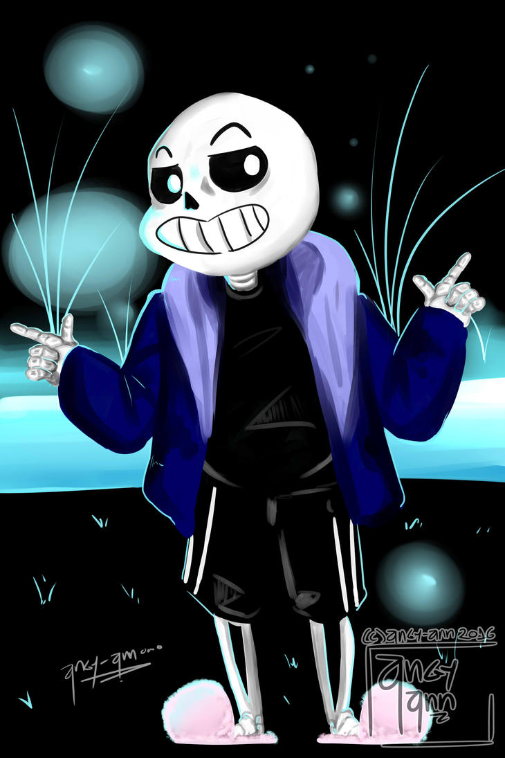 Sans by Angy-Ann