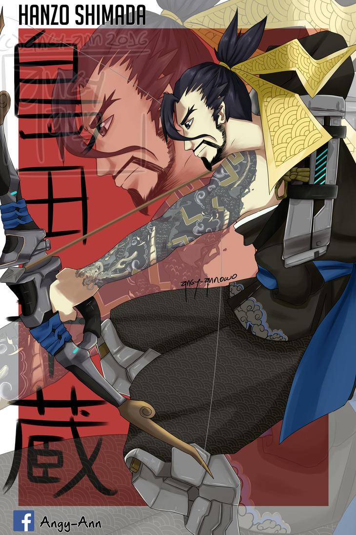 Hanzo Shimada by Angy-Ann