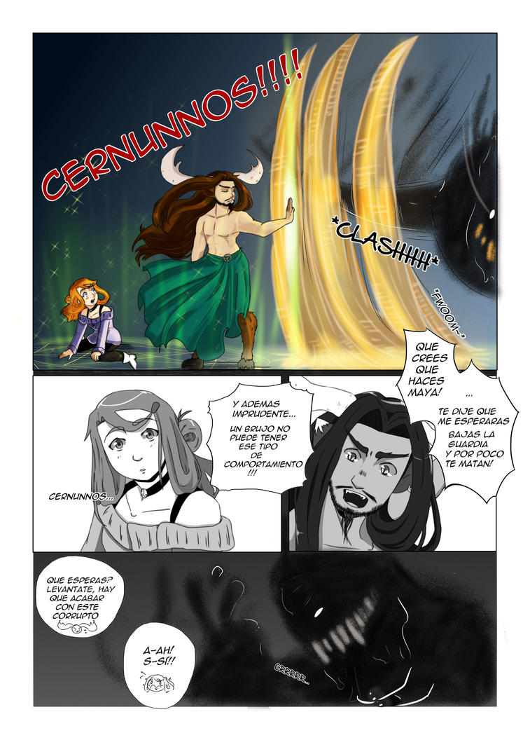 Capitulo 1 pag 5 Cernunnos by Angy-Ann