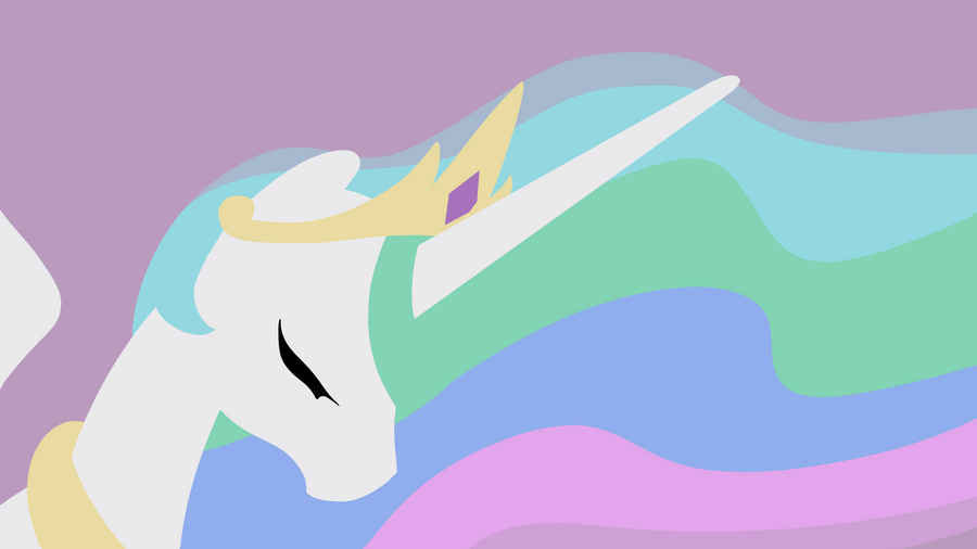 Celestia minimalist background by RJ-Pilot