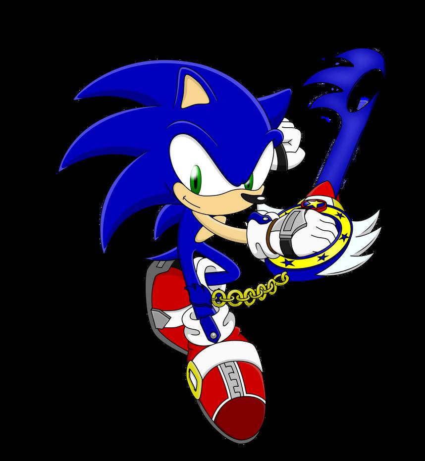 Kingdom Hearts: Sonic by Sycotei-B
