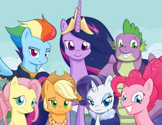 Forever Friends by Sycotei-B