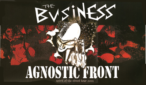 agnstic front the business art by martineric