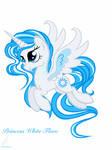 MLP Princess White Flare by PoshPegasus