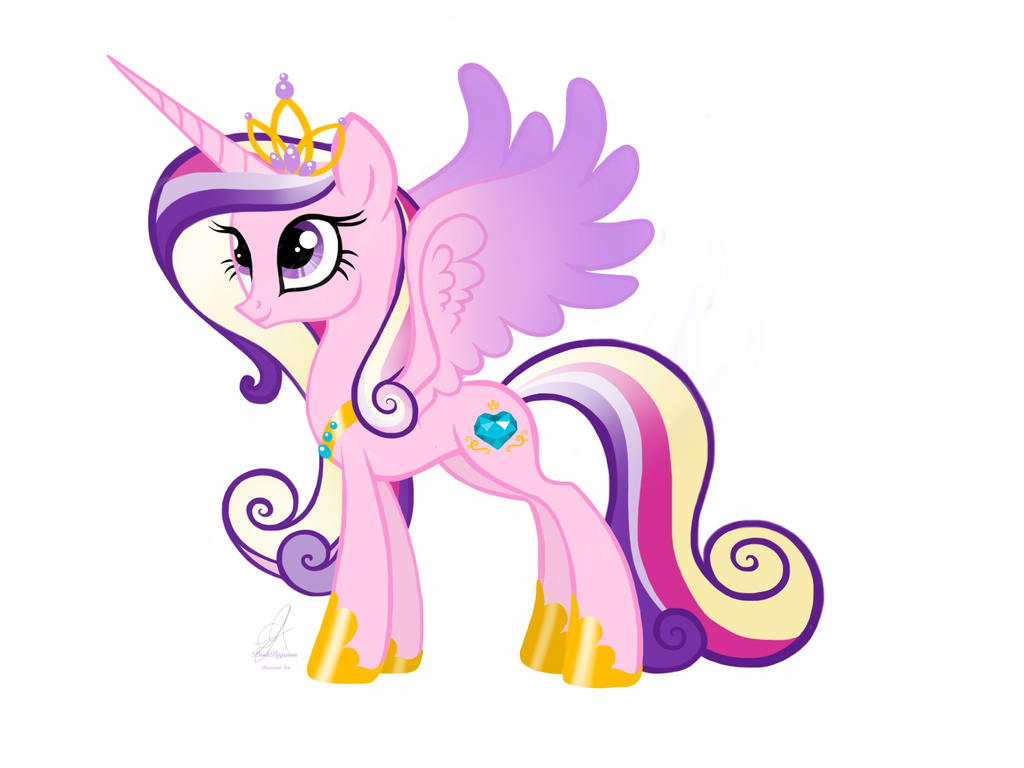 Mlp princess cadence by poshpegasus by poshpegasus on - My little pony cadence ...
