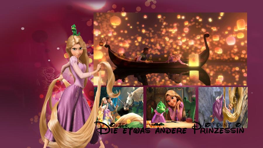 Tangled - Rapunzel - Wallpaper by MrsTearie on DeviantArt