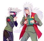 Fem Kakashi and jiraya