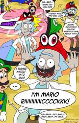 I'M MARIO RIIIIICCCCKKK!!!! by GregamanX