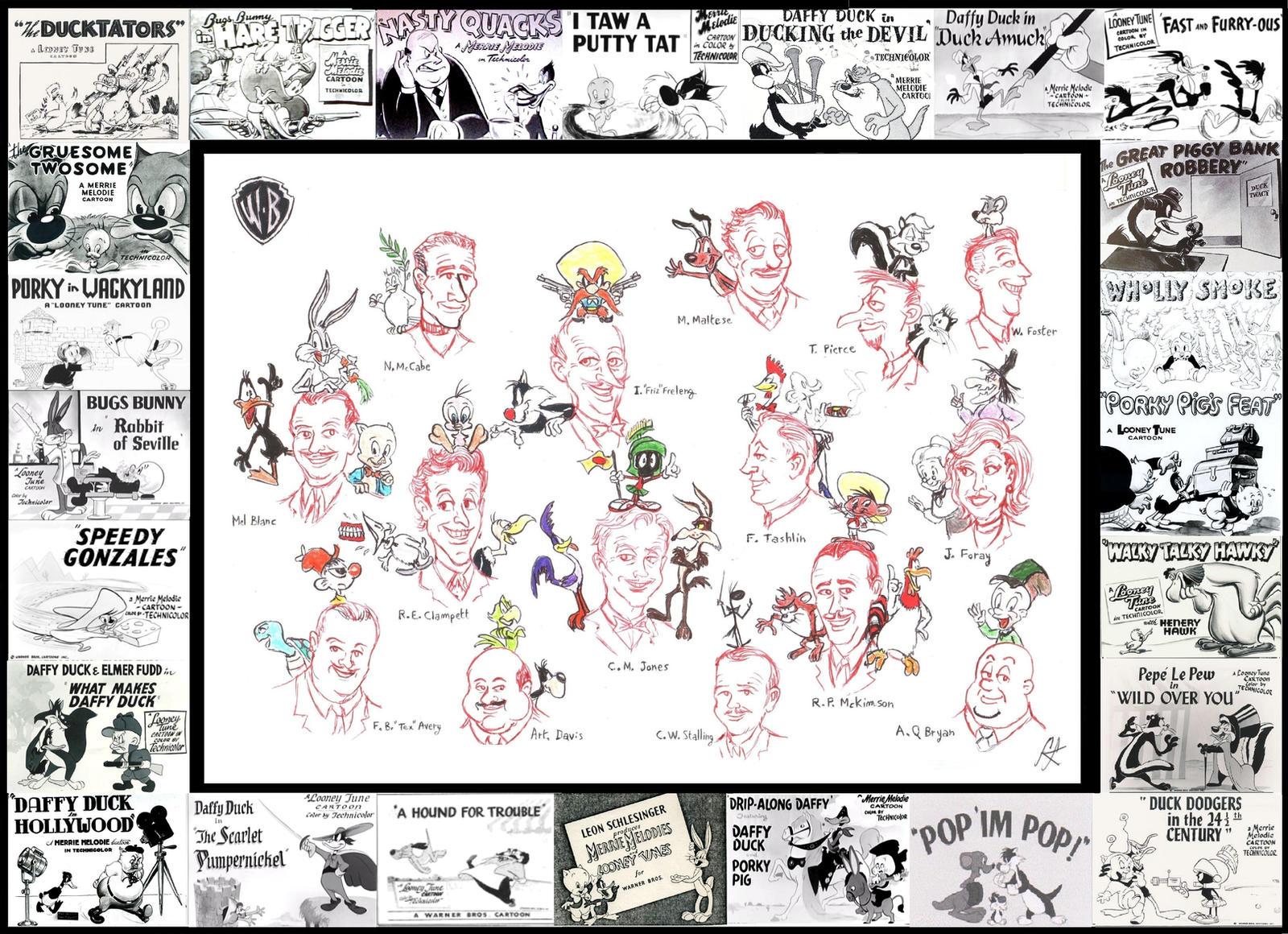 TERMITE TERRACE 1933-1963 by devilkais