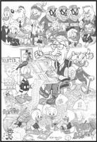 The Good Duck Artist - Best Of Carl Barks by devilkais