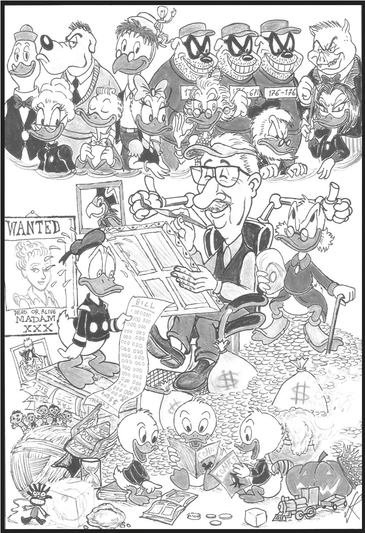 Carl Barks The Good Duck Artist Best Of Carl Barks by devilkais on DeviantArt