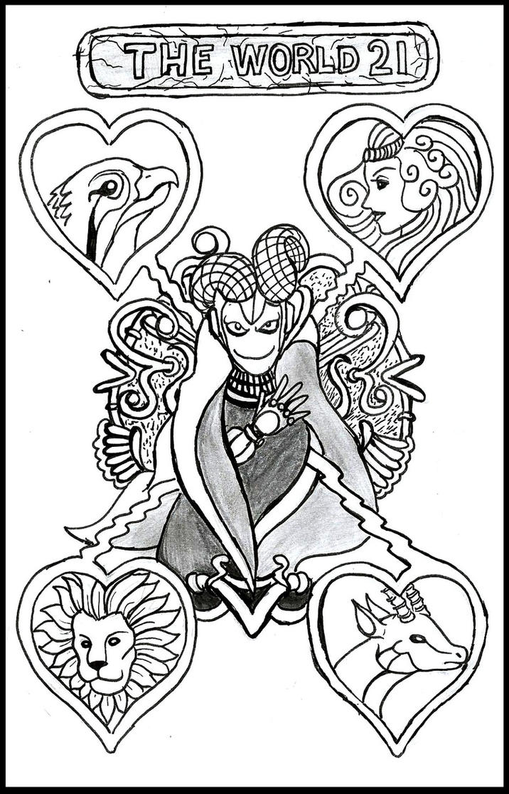 How To Draw A Tarot Card