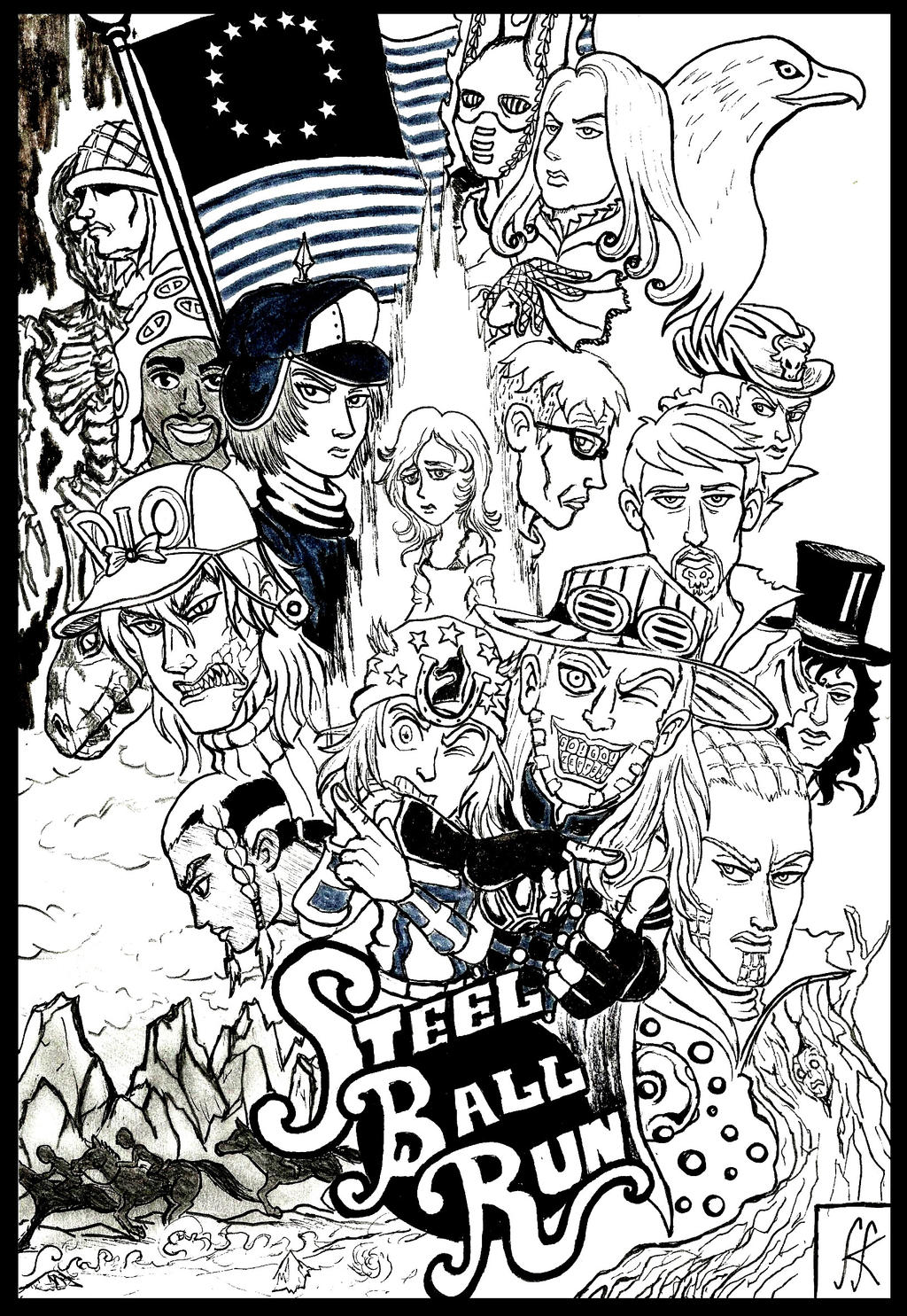 Steel Ball Run by devilkais