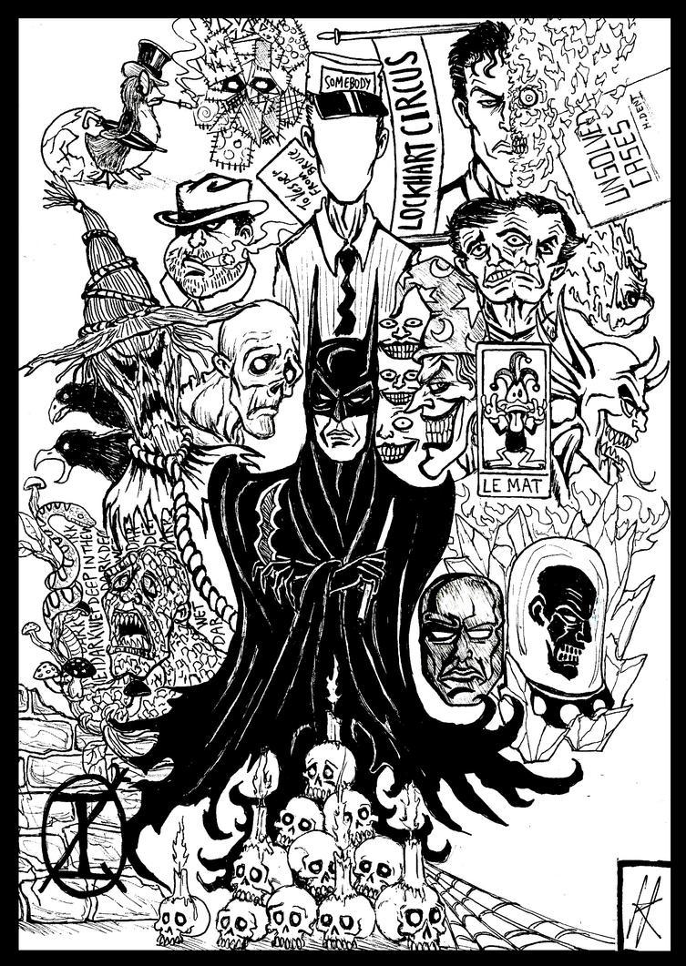 Best Of Batman part 1 by devilkais