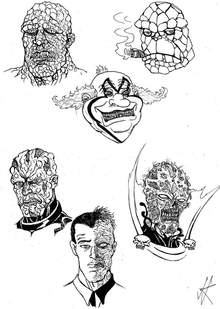 Beautiful faces by devilkais