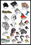 Jungle Book Critters