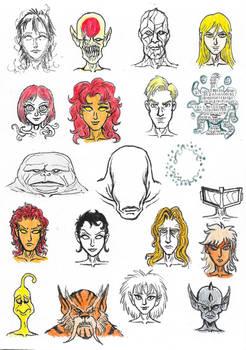 Space faces 2