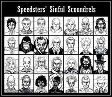 Speedsters' Sinful Scoundrels...