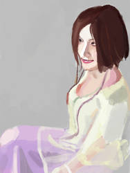 Akino Arai Portrait by AlphaProject