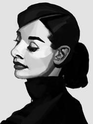Audrey Hepburn by AlphaProject