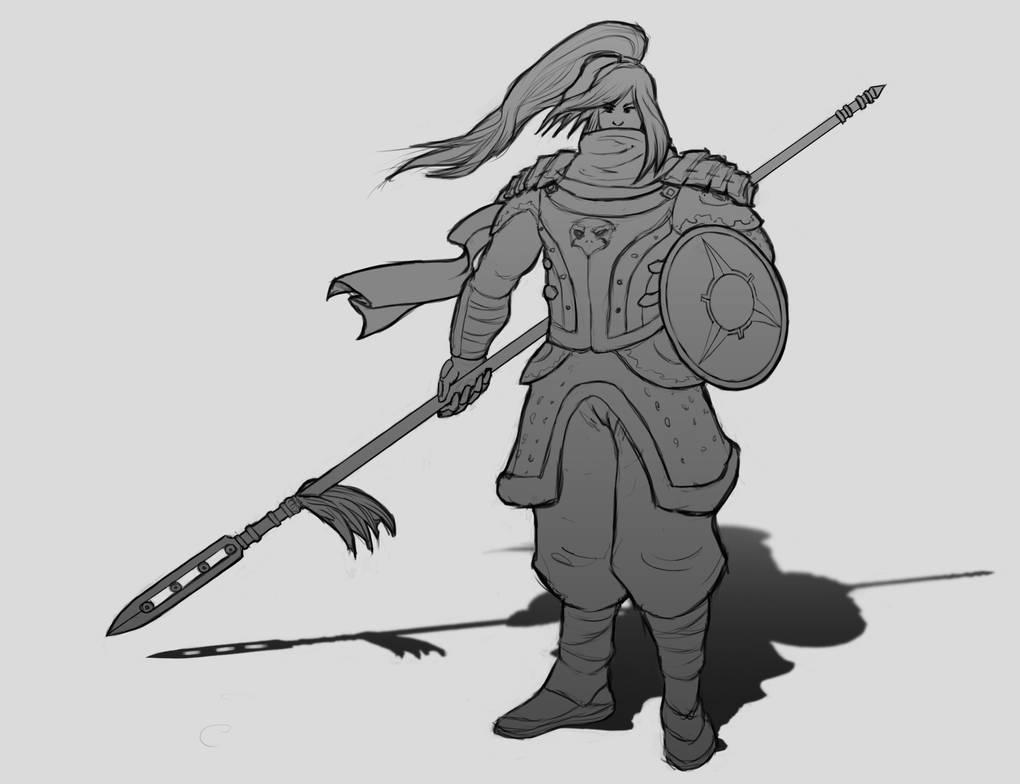 Qiang Warrior