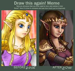 Draw This Again: Zelda