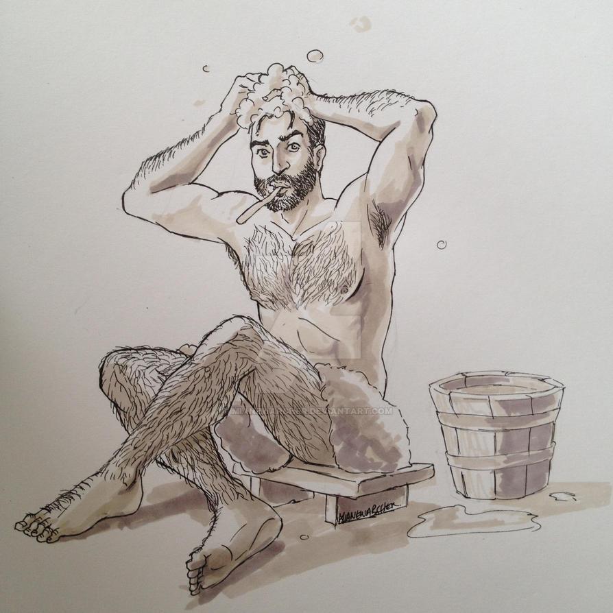 Bath time derek by motega