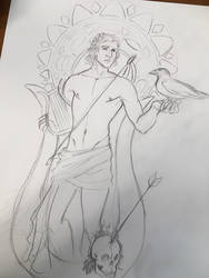Apollo Sketch by mianewarcher