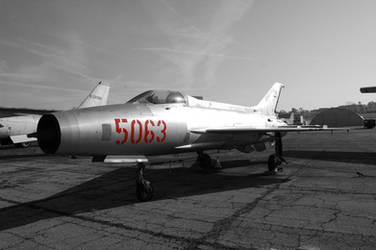 Mikoyan-Gurevich MiG-21 Fishbed - USAF Museum by comradeloganov