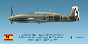Heinkel He 100D-1 Condor Legion